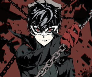 anime, joker, and anime boy image