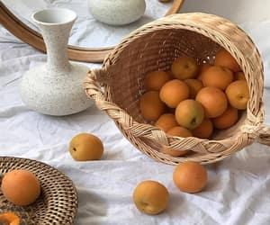 aesthetic, orange, and food image