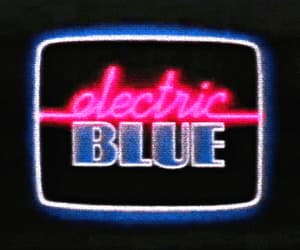 blue and electric image