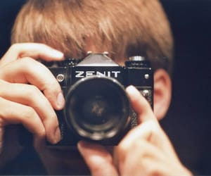 camera, lomo, and zenit image