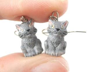 animals, earrings, and jewelry image