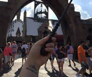 harry potter, tattoo, and universal image