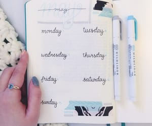 agenda, calligraphy, and ring image