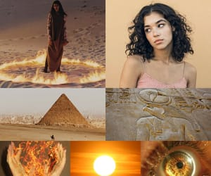 egypt, fire, and the kane chronicles image
