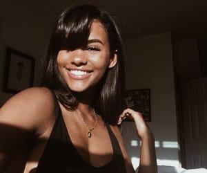 bangs, black, and girl image