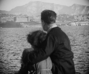 black and white, french, and movie stills image