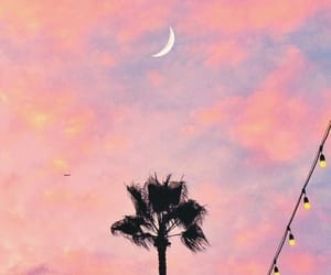 clouds, mood, and moon image