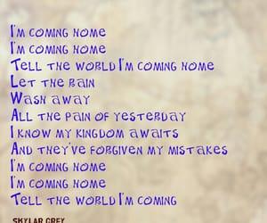 away, coming, and kingdom image