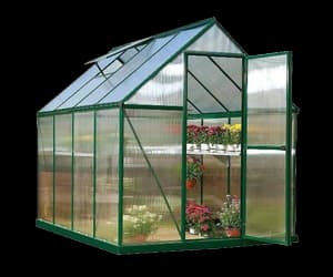 aesthetic, green house, and meme image
