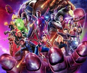 avangers, thanos, and infyniti war image