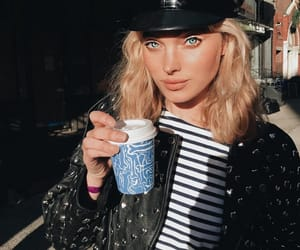beauty, coffee, and elsa hosk image