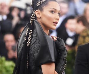 bella hadid, model, and met gala image