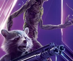 Marvel, groot, and infinity war image
