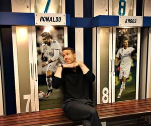 actor, cristiano ronaldo, and funny face image