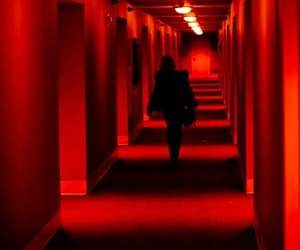 red, light, and aesthetic image