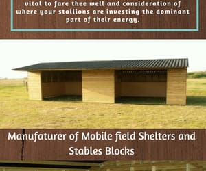 horse stables, mobile field shelters, and mobile stables image