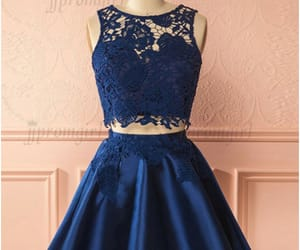 two piece dress and satin dress with pockets image