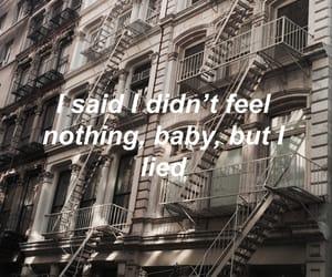 Lyrics, quote, and text image