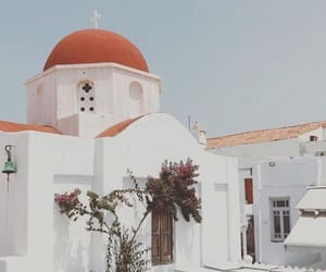 architecture, building, and Greece image