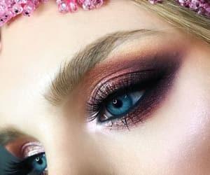 amazing, eyes, and makeup image