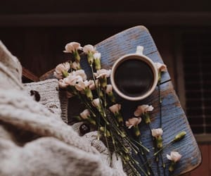 coffee, flowers, and goals image