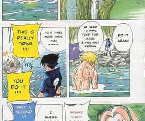 manga, naruto, and uchiha image