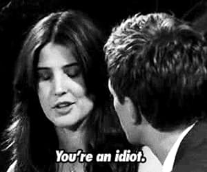 how i met your mother, idiot, and barney image
