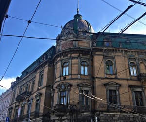 blue, lviv, and old image