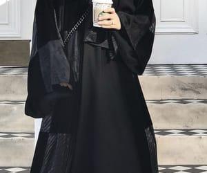 coffee, trend, and abaya image