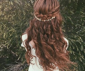 hairstyles, girls, and hair image
