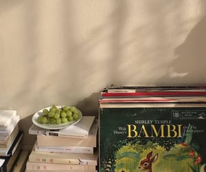 books, aesthetic, and fruit image