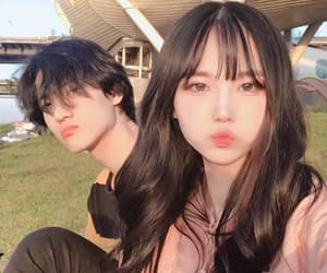 asian and couple image