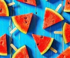 watermelon, summer, and wallpaper image