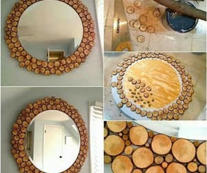 diy, esay craft, and wood decor image