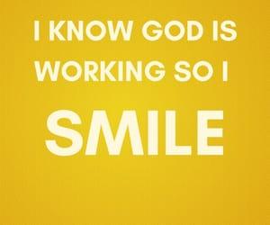 god, motivation, and smile image