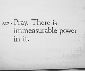 pray, god, and power image