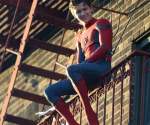 Marvel, tom holland, and spiderman image