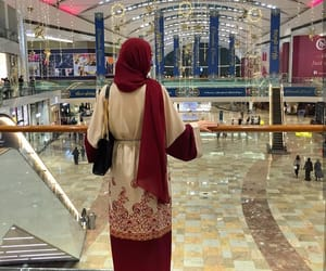 back, classy, and abaya image