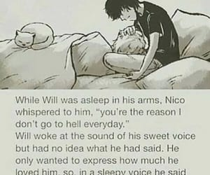 books, nico di angelo, and will solace image
