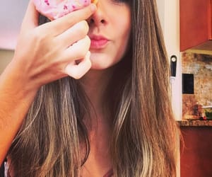 donut, pink, and tumblr image