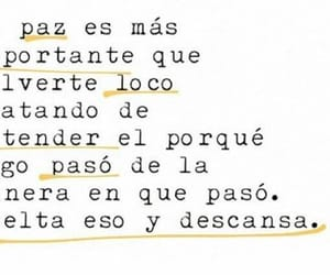 peace, frases, and frase image