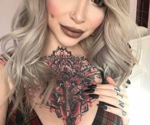 alternative, beautiful, and makeup image
