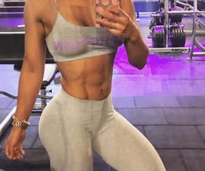 abby, exercise, and abs image