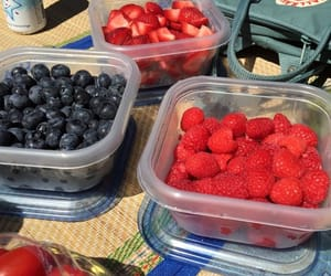 fruit, strawberry, and berries image
