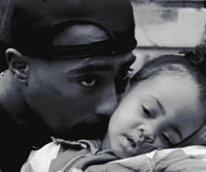 2pac, baby, and tupac image