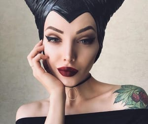 angelina, beauty, and black image