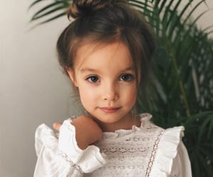 beautiful, brown hair, and little image