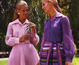 1972, buttons, and shirtwaist image