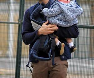 Jamie Dornan, baby, and christian grey image
