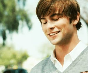 Chace Crawford, nate archibald, and smile image
